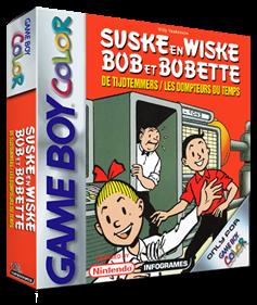 Bob et Bobette: Les Dompteurs du Temps - Box - 3D