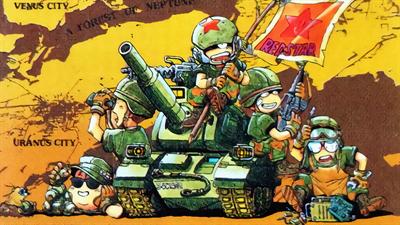 Super Famicom Wars - Fanart - Background