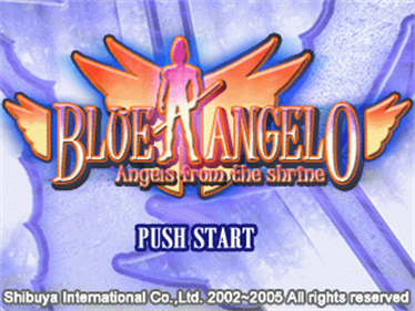 Blue Angelo: Angels from the Shrine - Screenshot - Game Title