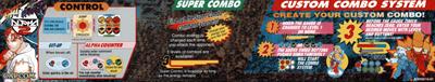 Street Fighter Alpha 2 - Arcade - Controls Information