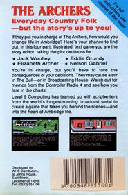 The Archers - Box - Back