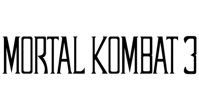 Mortal Kombat 3 - Clear Logo