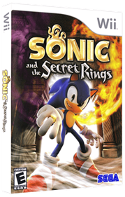 Sonic and the Secret Rings - Box - 3D