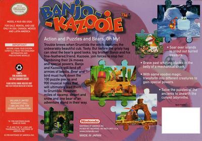 Banjo-Kazooie - Box - Back