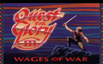 Quest For Glory III: Wages of War - Screenshot - Game Title