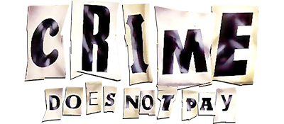 Crime Does Not Pay - Clear Logo