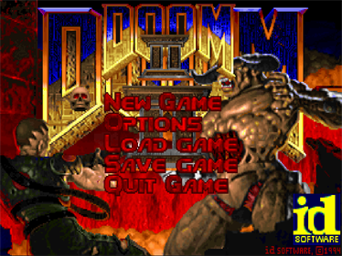 DOOM II - Screenshot - Game Title