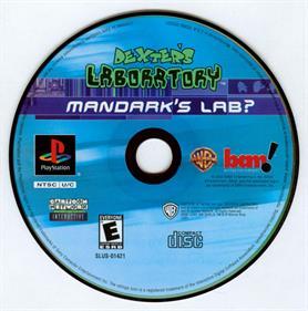 Dexter's Laboratory: Mandark's Lab? - Disc
