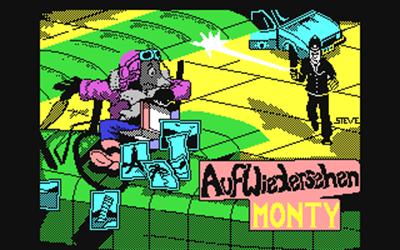 Auf Wiedersehen Monty - Screenshot - Game Title