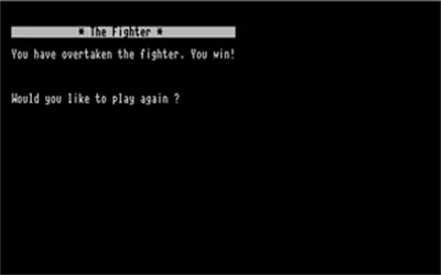 The Fighter - Screenshot - Game Over
