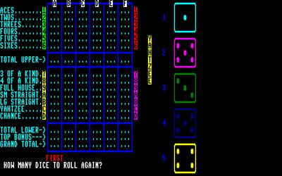 Yahtzee - Screenshot - Gameplay