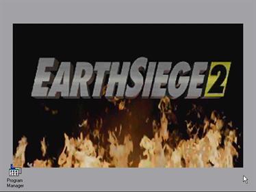 EarthSiege 2 - Screenshot - Game Title