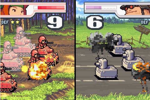 ... Advance Wars 2: Black Hole Rising - Screenshot - Gameplay ...