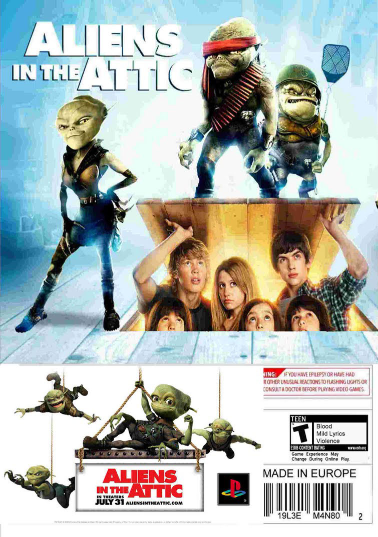 Aliens In The Attic Details Launchbox Games Database