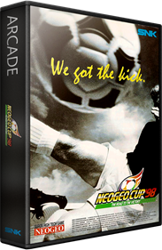 Neo Geo Cup '98: The Road to the Victory - Box - 3D