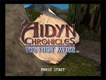 Aidyn Chronicles: The First Mage - Screenshot - Game Title
