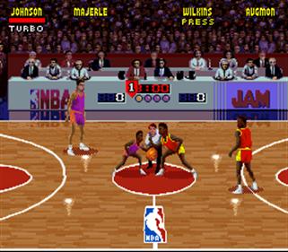 NBA Jam - Screenshot - Gameplay