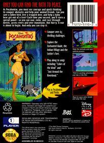 Pocahontas - Box - Back