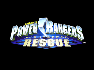 Power Rangers: Lightspeed Rescue - Screenshot - Game Title