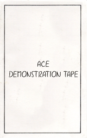 Ace Demonstration Tape