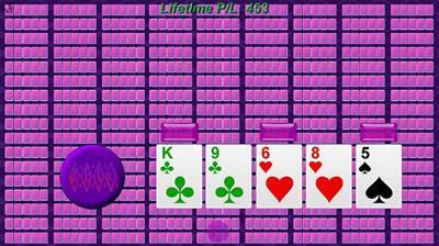 153 Hand Video Poker - Screenshot - Gameplay