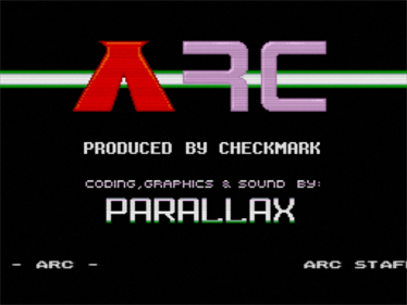 Arc - Screenshot - Game Title