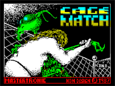 Intergalactic Cage Match - Screenshot - Game Title