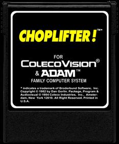Choplifter! - Cart - Front