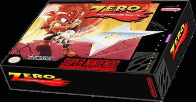 Zero the Kamikaze Squirrel - Box - 3D