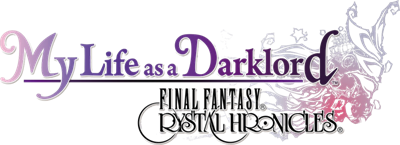 Final Fantasy Crystal Chronicles: My Life as a Dark Lord - Clear Logo