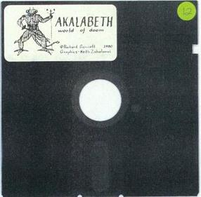 Akalabeth: World of Doom - Disc