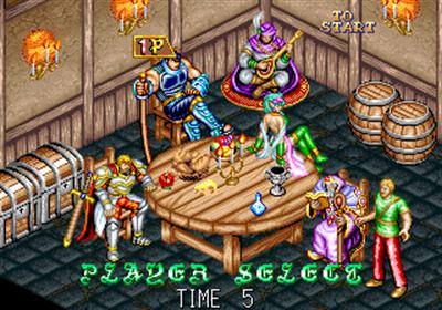 Dungeon Magic - Screenshot - Game Select