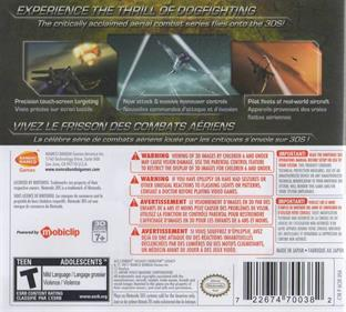 Ace Combat: Assault Horizon Legacy - Box - Back