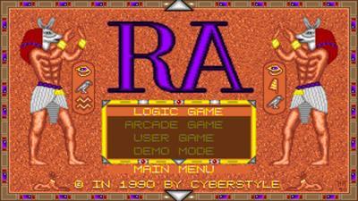 The Curse of Ra - Screenshot - Game Title
