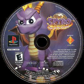 Spyro: Year of the Dragon - Disc