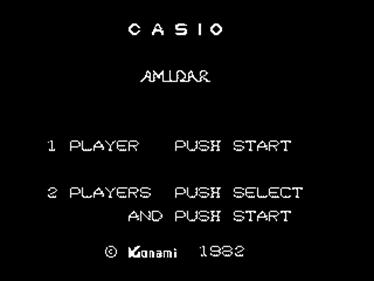 Amidar - Screenshot - Game Title