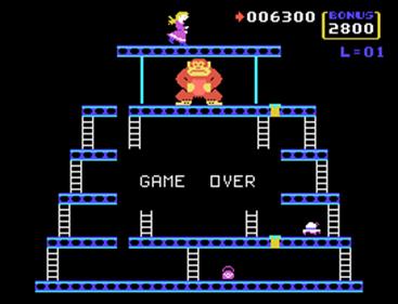 Donkey Kong - Screenshot - Game Over