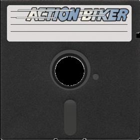 Action Biker - Fanart - Disc