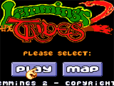 Lemmings 2: The Tribes - Screenshot - Game Title