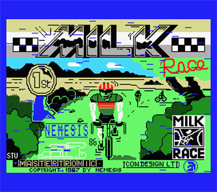 Milk Race - Screenshot - Game Title