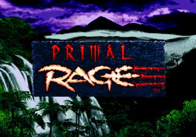 Primal Rage - Screenshot - Game Title