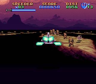 Super Star Wars: Return of the Jedi - Screenshot - Gameplay
