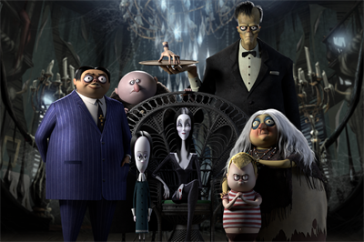 The Addams Family: Pugsley's Scavenger Hunt - Fanart - Background