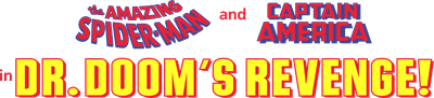 The Amazing Spider-Man and Captain America in Dr. Doom's Revenge! - Clear Logo