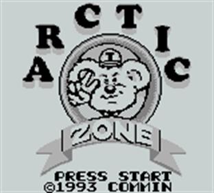 Arctic Zone - Screenshot - Game Title