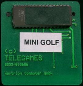 Krazy Ace Miniature Golf - Cart - Front