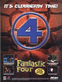 Fantastic Four - Advertisement Flyer - Front