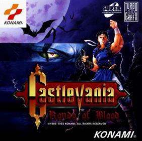 Akumajou Dracula X: Chi no Rondo - Fanart - Box - Front