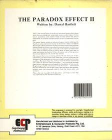 The Paradox Effect II - Box - Back