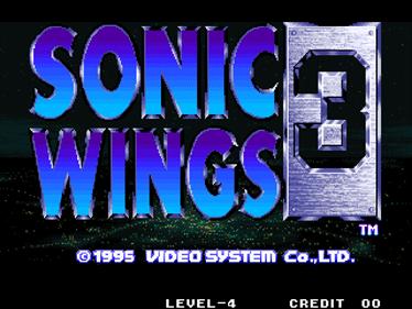 Aero Fighters 3 - Screenshot - Game Title